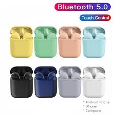 (COD) 9 Colors <b>TWS Bluetooth Earphone</b> i12 inPodTouch Airpod ...