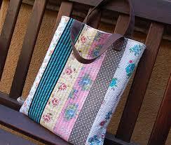reversible quilted tote bag by ayumills, via Flickr | sewing ideas ... & Sewing ideas · reversible quilted tote bag ... Adamdwight.com
