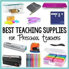 Best Teaching Supplies For Preschool Teachers Pre K Pages