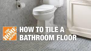 tiles bathroom floor. How To Tile A Bathroom Floor Tiles O