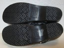Sanita Black And White Koi Floral Medical Mules Slides Size Eu 40 Approx Us 10 Regular M B 31 Off Retail