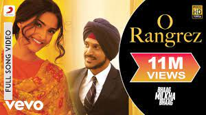 O Rangrez Full Video - Bhaag Milkha ...