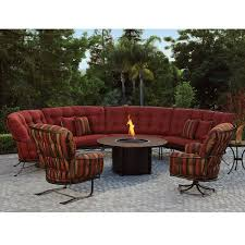 interiors mesmerizing round sectional outdoor furniture northcape malibu grande side view