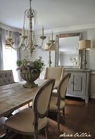 rustic chic dining room tables. dear lillie: dining room rustic chic tables