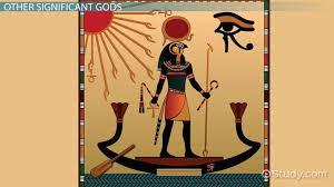 Ancient Egyptian Gods Goddesses Names Family Tree
