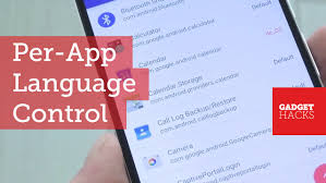 How To Change Where Apps Are Installed On Android Use A Different Language In Each Of Your Android Apps How To Youtube