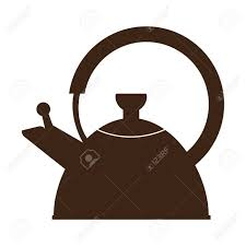 coffee pot silhouette. Perfect Coffee Isolated Silhouette Of A Coffee Pot Stock Vector  100748651 With Coffee Pot Silhouette C