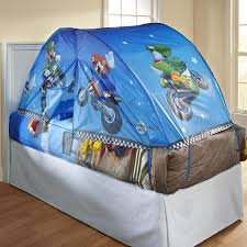 Great Blue Bed Tent For Toddler Bed For Boys