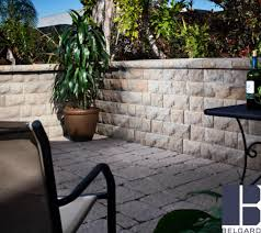 belair wall is ideal for retaining and freestanding wall construction where aesthetics are a key consideration the attractive multi piece design and