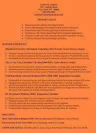 Business Analyst Resume Examples Best Of 8 Business Analyst Resume