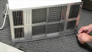 Through The Wall Heating And Cooling Units Installation Of A Thru The Wall Air Conditioner Youtube