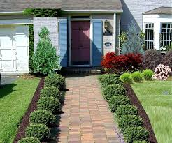 beautiful ideas of front yard of walkway to front door with plants beside the way and large gry yard walkways front yards walkways and