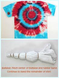 bullseye tie dye