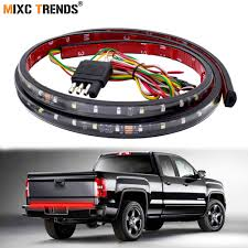 2007 Dodge Ram Brake Lights And Turn Signals Not Working 60 Inch 90leds Tailgate Led Strip Pickup Tail Light Bar Drl