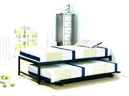 Queen Bed Trundle Twin Bed With Trundle Queen Bed With Twin Trundle ...