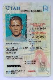 Id Utah Card Id-chief Fake Maker Vertical