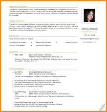 Canada Resume Template Sample Canadian Resume Format Bitacorita