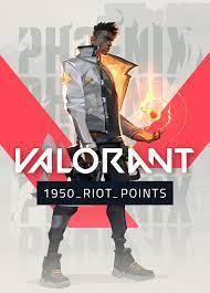 Kaufen Valorant 1950 Riot Points Other platform