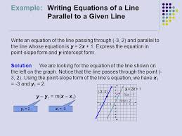 14 example writing equations