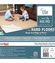 eco stay non slip rug underlay 8 u0027x10 u0027