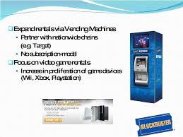 Blockbuster Vending Machines Custom Blockbuster Case Analsys By Dare Devil Consulting