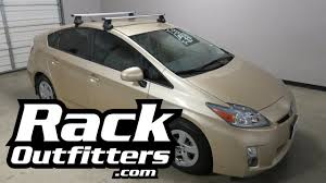 2010-2015 Toyota Prius 5DR with SportRack Latitude Roof Rack ...