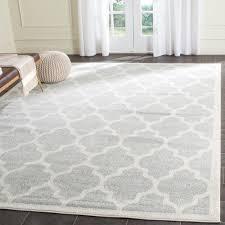 safavieh kalec light gray beige 8 ft x 10 ft indoor outdoor