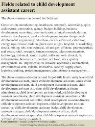 child development resumes child development resume
