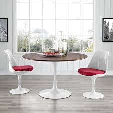 tulip table and chairs. Best Flower Dining Table Walnut Round Top Mid Century Pic For Saarinen Tulip And Chairs Popular R