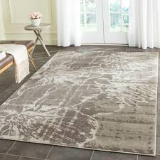 7 x 7 square area rugs beautiful safavieh porcello ivory grey 5 ft 2 in x