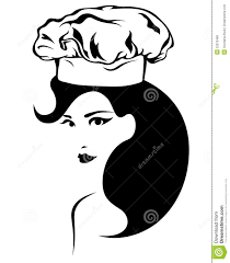 woman cooking clipart black and white. Perfect White Woman Cooking Vector On Cooking Clipart Black And White N