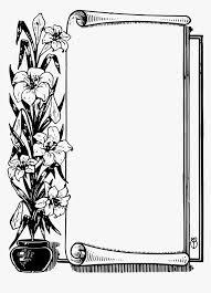 Black Scroll Design Clip Art Transparent Scrolls Clipart Black And White Scroll Hd Png