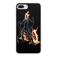 Чехол для iPhone 7 Plus, объёмная печать <b>ПРИЗРАЧНЫЙ</b> ...