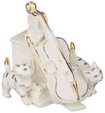 Статуэтка <b>Lefard Кошки</b> 101-969 Золотистый, белый купить ...