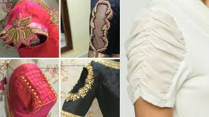 Saree Blouse Sleeve Designs 2018 Different Types Of Sleeves Designs Latest Blouse Sleeves