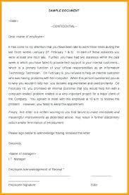 verbal warning letter template verbal warning