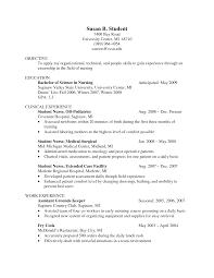 Resume Objective Nurse Graduate Najmlaemah Com