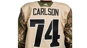 Salute Capitals The Military Night Tuesday Host Feb To 20
