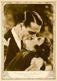 1930 Rotogravure Lila Lee Walter Byron Warner Bros Sacred Flame Kiss O –  Period Paper