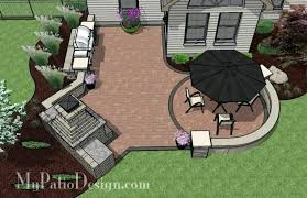 Backyard Patio Designs With Fireplace Small Outdoor Living Patio