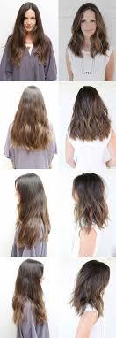 Haare Selbst Schneiden A Mittellanger Stufenschnitt Undone Frisur Frisuren Halblang Gestuft Frisuren Mittellang Stufig Gestufte