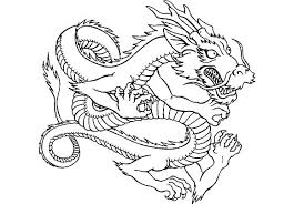 Easy Chinese Dragon Dragon Coloring Pages Dragon Coloring Page