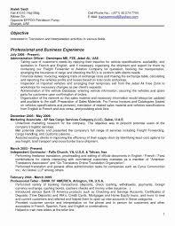 Arabic Linguist Resume Objective Professional Resume Templates
