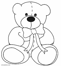 Small Picture To Print Teddy Bear Coloring Page 28 For Your Coloring Pages