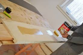 again just apply the contact cement to the particle board