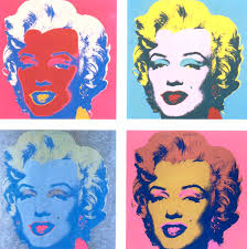 marilyn monroe andy warhol lacenleather