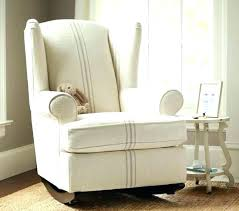 white wooden rocking chair. Fabric Rocking Chair White Wooden For Nursery Upholstered Chairs