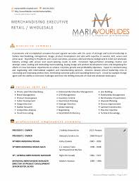 Cover Letter Fashion Resume Sample Clothing Examples Merchandising