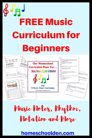Free Beginners Music Curriculum Learning Notes Rhythm