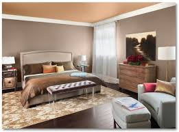 Two Color Walls Bedroom